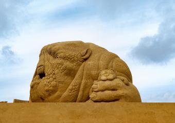 Sandskulptur Søndervig 2018 (13)