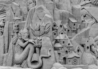 Sandskulptur Søndervig 2018 (16)