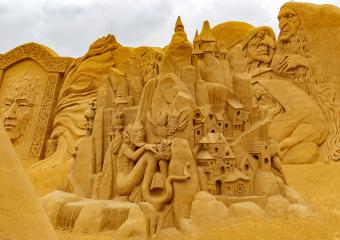 Sandskulptur Søndervig 2018 (17)