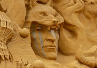 Sandskulptur Søndervig 2018 (19)