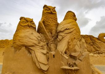 Sandskulptur Søndervig 2018 (8)