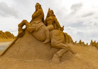 Sandskulptur Søndervig 2018 (9)
